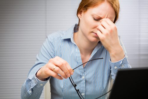 elohiiri johtuu stressistä