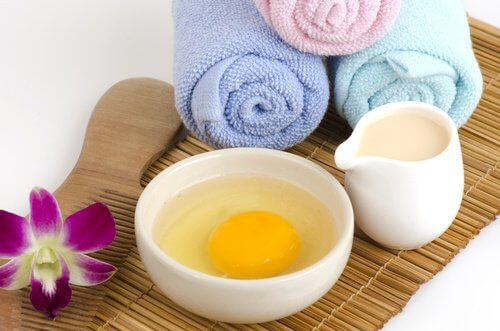 Egg, honey, barley, and aloe vera masks