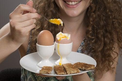 kananmunat vähentävät ruoanhimoa