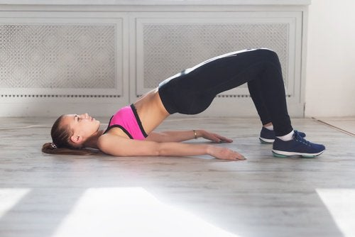Tone your glutes with this exercise.