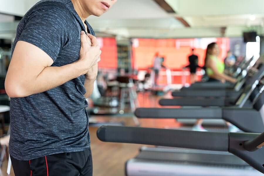 Chest pressure can be a sign of lung failure.