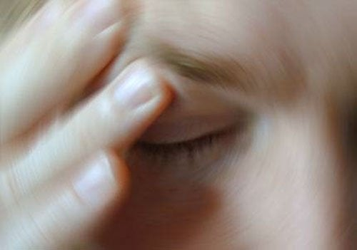 A dizzying feeling is one of the effects of anxiety on your body.
