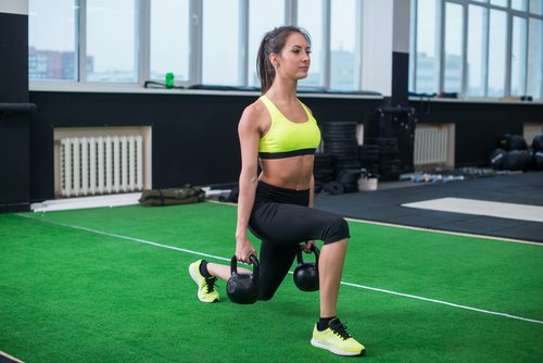 women glute exercises