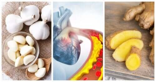 Fight High Blood Pressure and Cholesterol with This Ginger and Garlic Remedy