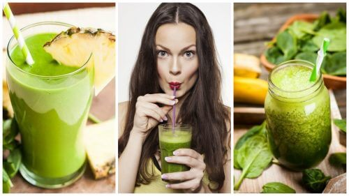 Five Green Shake Recipes for Detoxing and Weight Loss