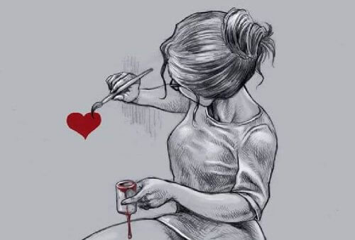 maalaa sydämen