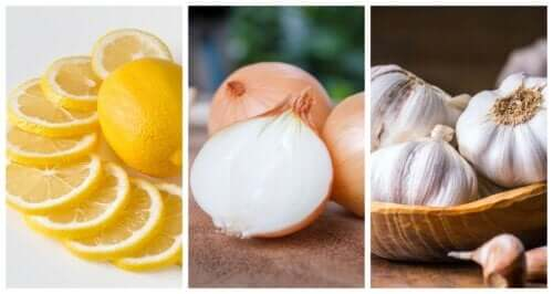 Onion, Garlic, and Lemon: The Three Superfoods