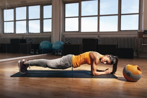 Use the plank to improve your posture