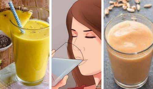 5 Delicious Vegan Smoothies that are Rich in Vegetable Protein and Fiber