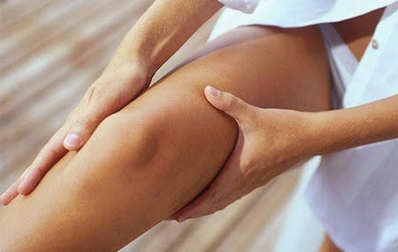 Increase blood flow to your legs with a massage.
