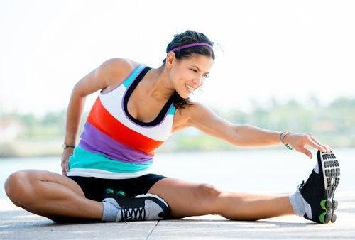 근육 경련은 운동으로 예방