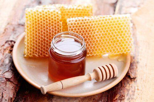 건조한 모발 꿀