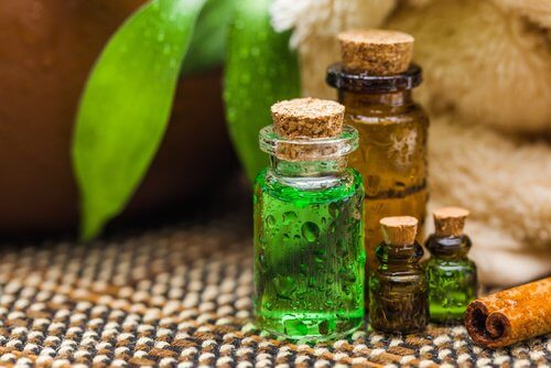 Tea tree oil can help with sweating.