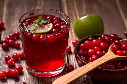 cranberries and cranberry juice to help with yeast infections