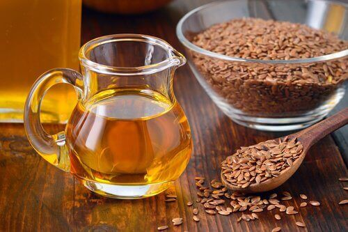 Flaxseed oil helps treat colon cancer symptoms