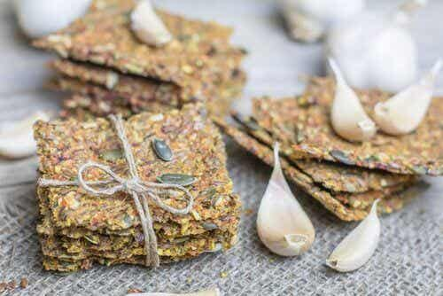 How to Make Gluten-Free, Lactose-Free Seed Crackers