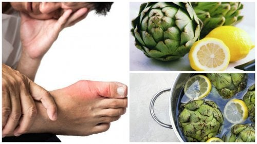 Eliminate Uric Acid with Artichoke and Lemon Water