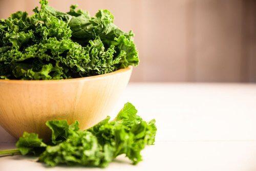 kale vitamin E