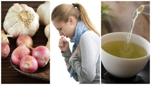 Fight Your Cough with this Natural Garlic and Onion Drink