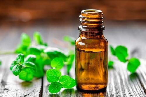 Peppermint oil for muscle tension