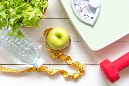 Various weight loss items.