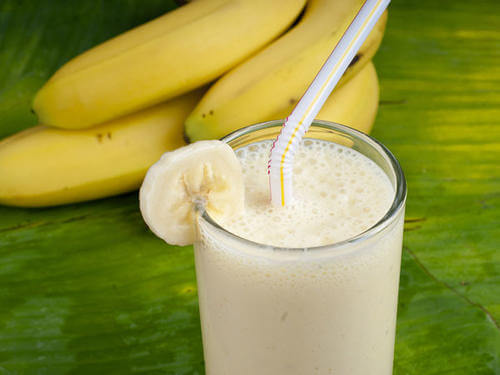 Banana and Greek yoghurt smoothie