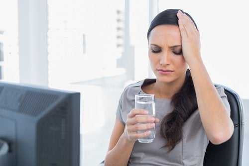 Chia and lemon juice helps headaches associated with dehydration