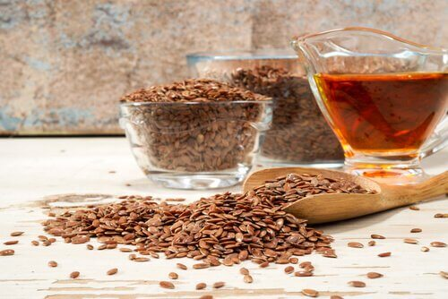 Flaxseed and honey