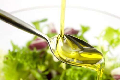 Olive oil for soft skin