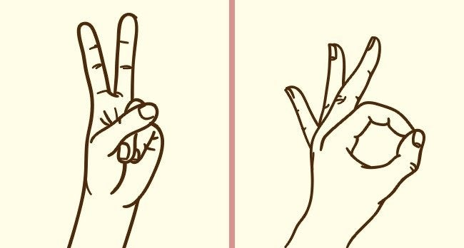 4 मेंटल एक्सरसाइज : finger signs