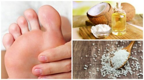 Exfoliate Your Feet with Coconut Oil and Salt