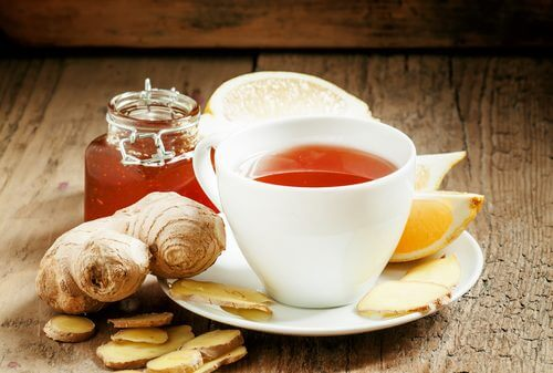 Ginger tea for chronic low blood pressure