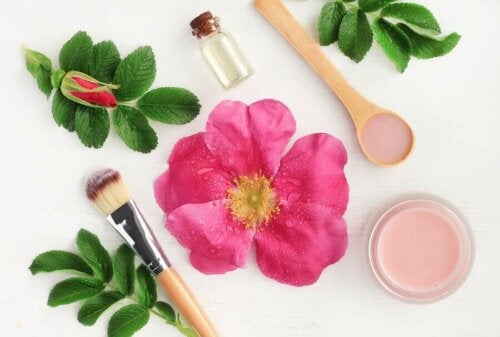 Wild roses are great for removing facial impurities.