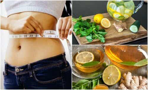 Fight Bloating and Lose Weight with Ginger and Lemon