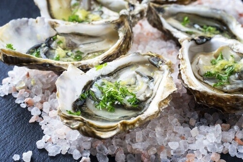 Promote hair health with oysters.