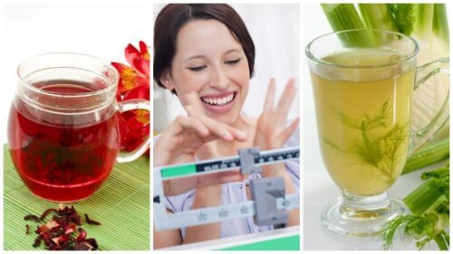 Easily Lose Weight with These 6 Natural Infusions