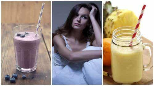 5 Natural Smoothies To Help With Nighttime Hot Flashes