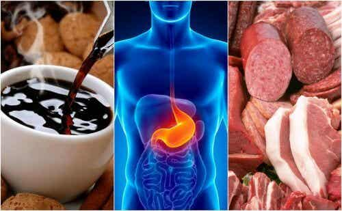 Eight Foods that Cause Heartburn