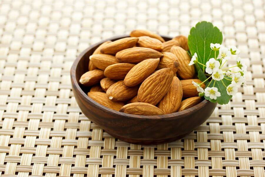 almonds are great for fighting insomnia