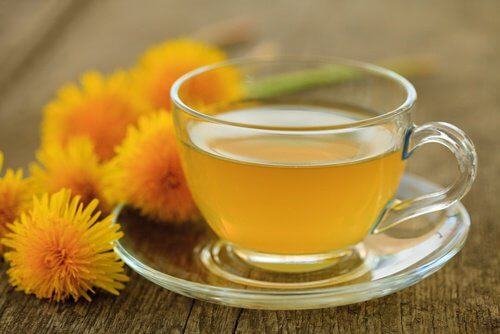 Dandelion tea to lower blood pressure