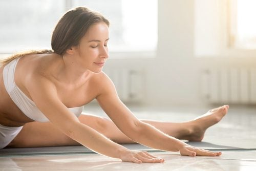 Relieve menstrual cramps with yoga poses.