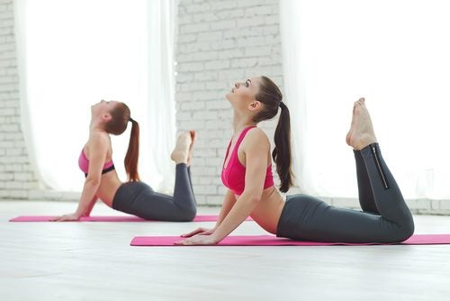 You may be able to alleviate back pain with pilates.