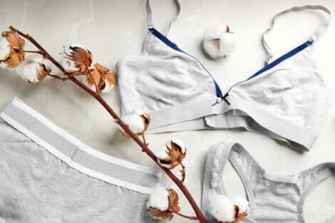 Cotton underwear.