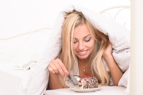 A sweet tooth is a sign of stomach problems