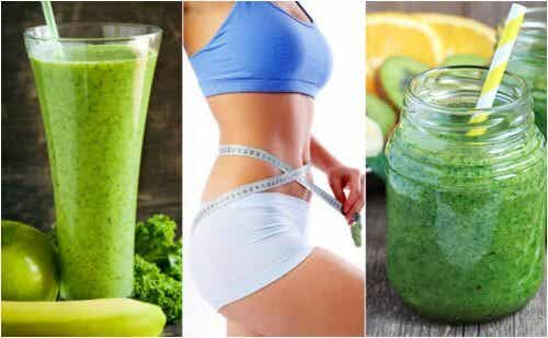 Five Green Juice Recipes for Weight Loss