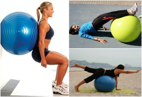 5 Fantastic Exercises for Glutes with an Exercise Ball