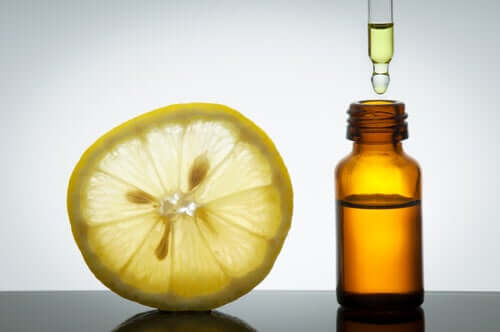 A citrus oil.
