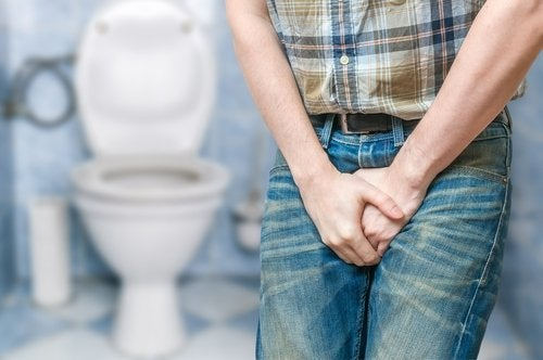 man with bladder problem