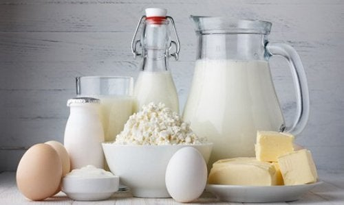 Dairy products such as milk, cheese, eggs dental plaque