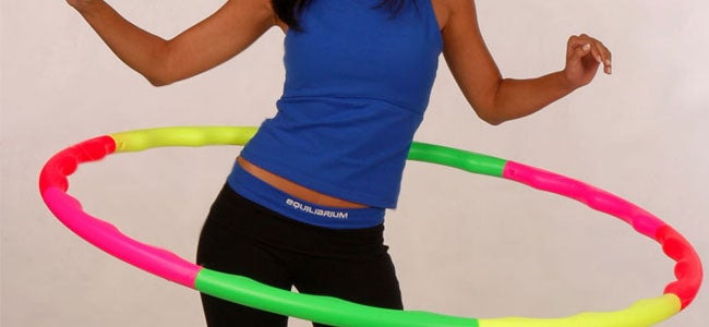 Hula hoop for a slim waistline